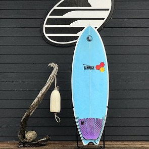 Channel Island Pod Mod 5'8 x 21 x 2 5/8 Used Surfboard - Deck