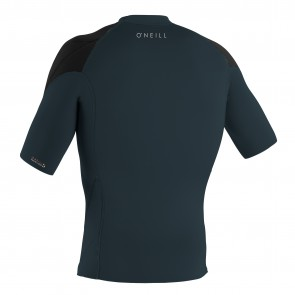 O'Neill Wetsuits Reactor II 1mm Short Sleeve Jacket - Slate/Black/Black