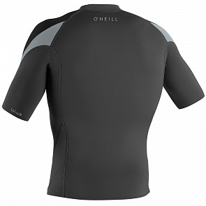 O'Neill Reactor II 1mm Short Sleeve Jacket - Graphite/Grey