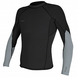O'Neill Hyperfreak 1.5mm Long Sleeve Jacket - Midnight Oil/Grey