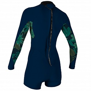 O'Neill Women's Bahia 2/1 Long Sleeve Back Zip Spring Wetsuit