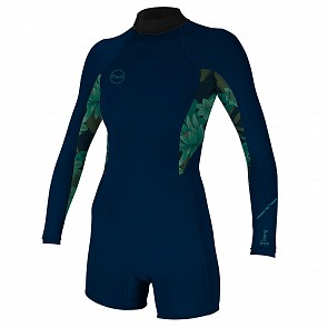 O'Neill Women's Bahia 2/1 Spring Wetsuit - Abyss/Faro/Abyss