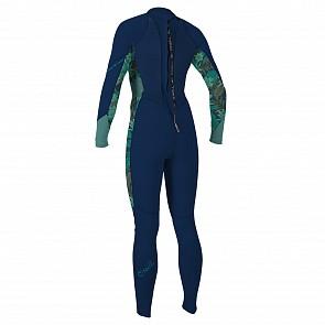 O'Neill Women's Bahia 3/2 Back Zip Wetsuit