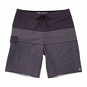 Billabong All Day Heather Stripe Boardshorts - Charcoal