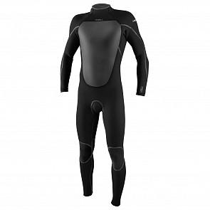 O'Neill Heat 4/3 Back Zip Wetsuit - Black