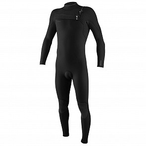 O'Neill Hyperfreak 4/3+ Chest Zip Wetsuit - Black