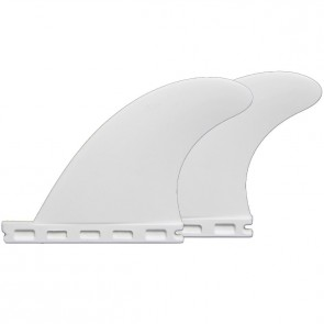 Futures Fins - QD2 3.75'' Quad Rears Thermotech - White