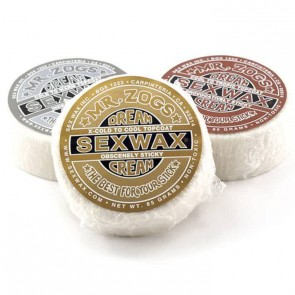 Sex Wax Dream Cream Topcoats Silver Surf Wax
