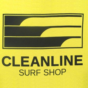 Cleanline Lines T-Shirt - Yellow/Black