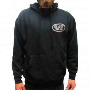 Cleanline Anchor Seaside Hoodie - Black