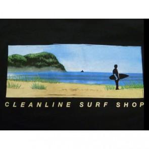 Cleanline Mural T-Shirt - Black