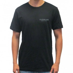 Cleanline Lines T-Shirt - Black/Grey