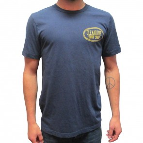Cleanline Anchor Seaside T-Shirt - Navy