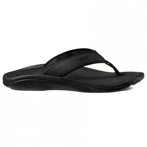 OluKai 'Ohana Sandals - Black/Black