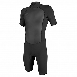 O'Neill O'Riginal 2mm Short Sleeve Back Zip Spring Wetsuit - Black