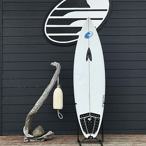 Roberts Black Punt 6'0 x 19 x 2 3/8 Used Surfboard - Deck