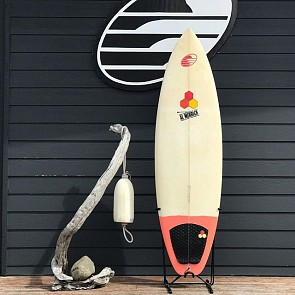 Channel Islands Motor Boat 6'4 x 21 x 2 5/8 Used Surfboard - Deck