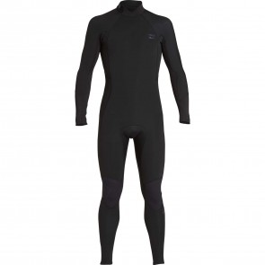 Billabong Furnace Absolute Comp 4/3 Back Zip Wetsuit - Black