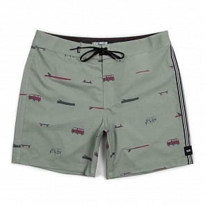 Vans Youth Boys Vans X Yusuke Boardshorts - Oil Green