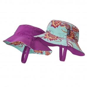 Patagonia Baby Sun Bucket Hat - Cereus Flower/Ikat Purple