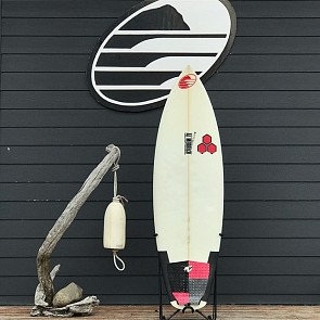 Channel Islands Neck Beard 5'7 x 19 1/2 x 2 5/16 Used Surfboard - Deck