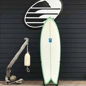 FCD Fish 5'10 x 21 1/8 x 2 9/16 Used Surfboard - Deck