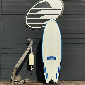 Linden Quad Fish 5'6 x 21 x 2 3/4 Used Surfboard