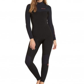 Billabong Women's Furnace Carbon 4/3 Chest Zip Wetsuit - 2019
