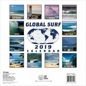 Global Surf 2019 Calendar