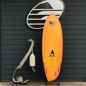 Bauer Asym 6'4 x 22 1/2 x 2 3/4 Used Surfboard