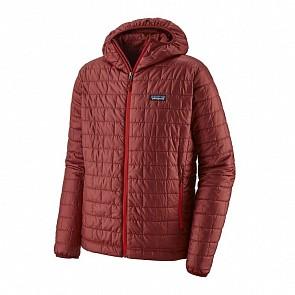 Patagonia Nano Puff Hoody Jacket - Oxide Red