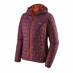 Patagonia Women's Nano Puff Hoody Jacket - Light Balsamic