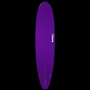 Torq Longboard 8'6 x 22 1/2 x 3 1/8 Surfboard - Purple/White