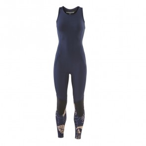 Patagonia Women's R1 Lite Yulex 2mm Long Jane Wetsuit -Valley Flora/Rosewater