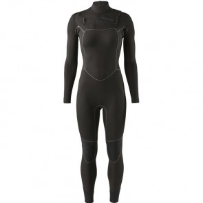 Patagonia Women's R1 Yulex 3/2.5 Chest Zip Wetsuit - Black