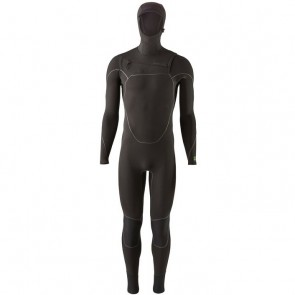 Patagonia R2 Yulex 3.5/3 Hooded Wetsuit - Black