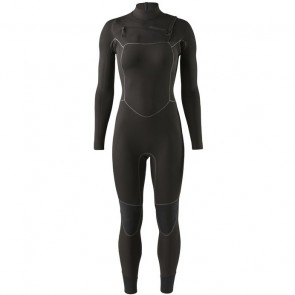 Patagonia Women's R3 Yulex 4.5/3.5 Chest Zip Wetsuit - Black