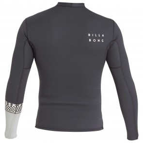 Billabong Revolution DBAH Reversible 2mm Long Sleeve Jacket - Graphite