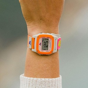 Freestyle Shark Classic Clip Watch - Taupe/Neon