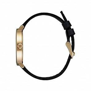 Nixon Women's Arrow Leather Watch - Gold/Cream/Black