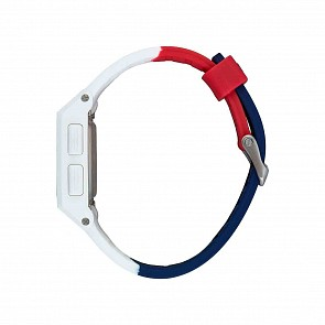 Nixon Base Tide Watch - Red/White/Blue