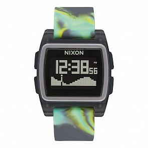 Nixon Base Tide Watch - Green Jellyfish