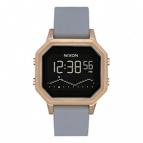 Nixon Women's Siren SS Watch -Light Gold/Grey