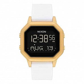 Nixon Women's Siren SS Watch - Gold/White