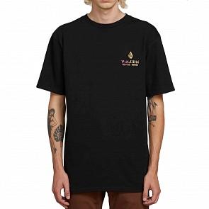 Volcom Peace Is Progress T-Shirt - Black