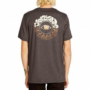 Volcom Sunshine Eye T-Shirt - Heather Black
