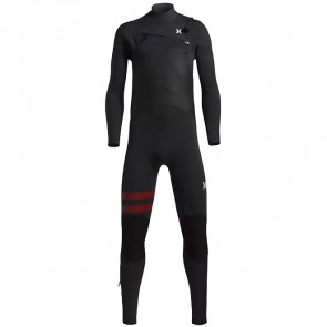 Hurley Youth Advantage Plus 3/2 Chest Zip Wetsuit