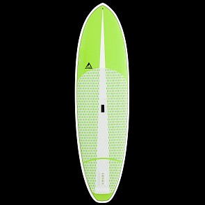 Adventure Paddleboarding Sixty Forty X1 SUP - Lime - Deck