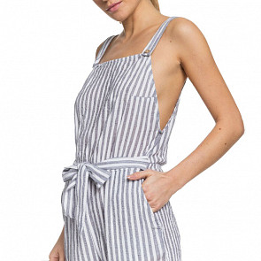 Roxy Women's Another You Strappy Jumpsuit - Mood Indigo Lagos
