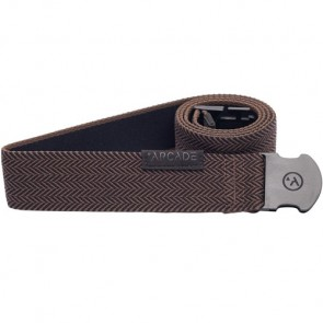 Arcade The Hemingway Belt - Black/Brown